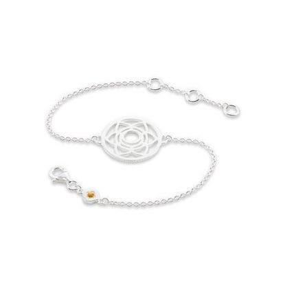 Picture of Sacral Chakra Bracelet in Silver