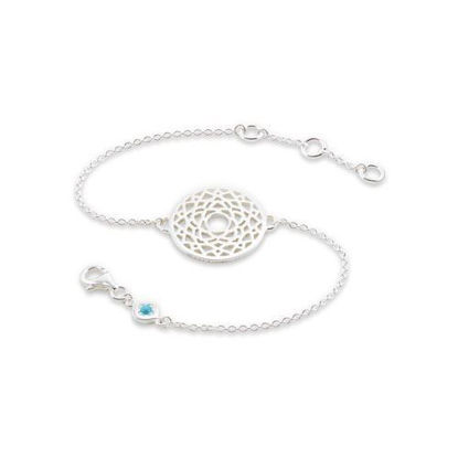Picture of Crown Chakra Chain Bracelet