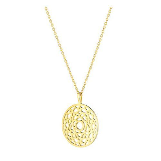 Picture of Crown Chakra Necklace in Gold