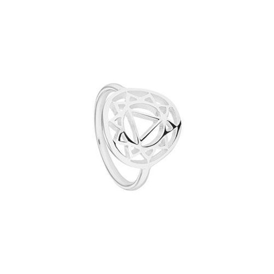Picture of Solar Plexus Chakra Ring in Silver