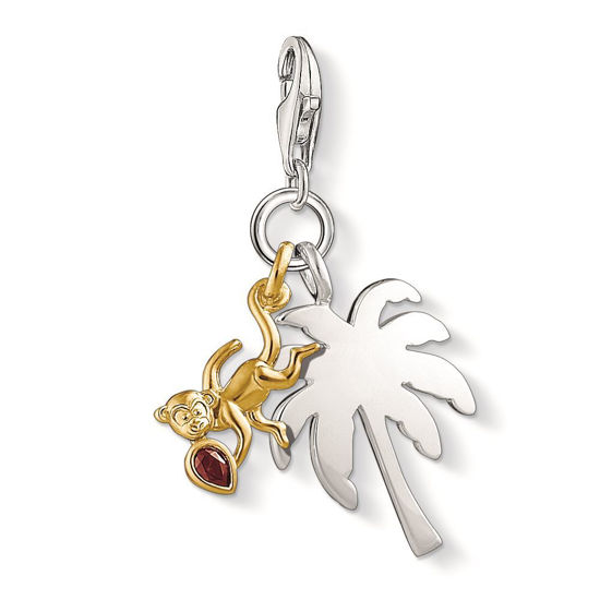 Picture of Palmtree and Monkey Charm