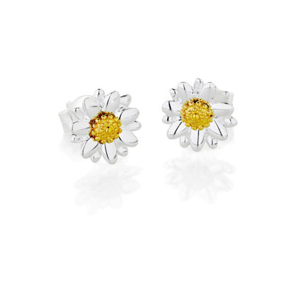 Picture of Bellis Daisy Stud Earrings 8mm