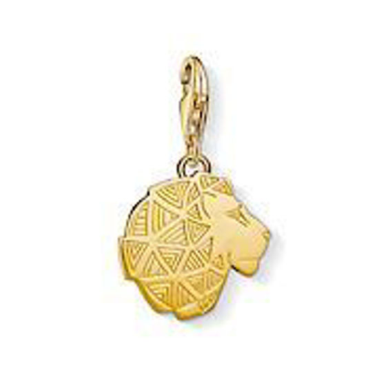 Picture of Gold Lion Charm