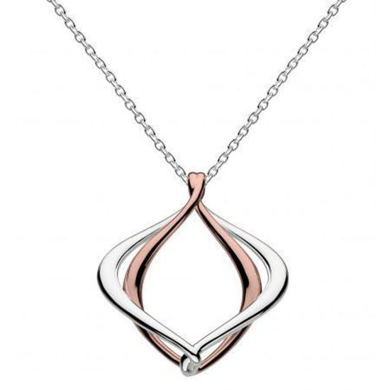 """Picture of Kit Heath Infinity Alicia Rose Gold Plate 18"""" Necklace"""