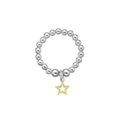 Picture of Gold Mini Star Ring