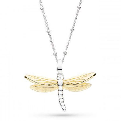 Picture of Blossom Flyte Dragonfly Ball Chain Necklace