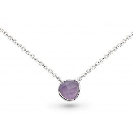 """Picture of Coast Pebble Amethyst Mini 17"""" Necklace"""