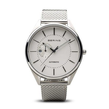Picture of Bering - Automatic, Polished Silver Watch