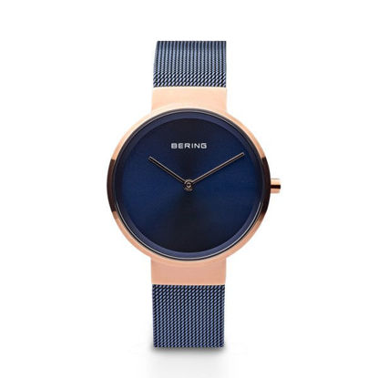 Picture of Bering Blue and Rose Gold Watch