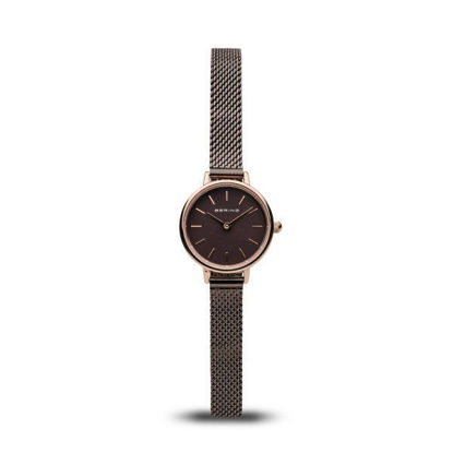 Picture of Bering Brown Thin Mesh Wacth