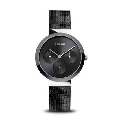Picture of Bering Black Chronograph Watch