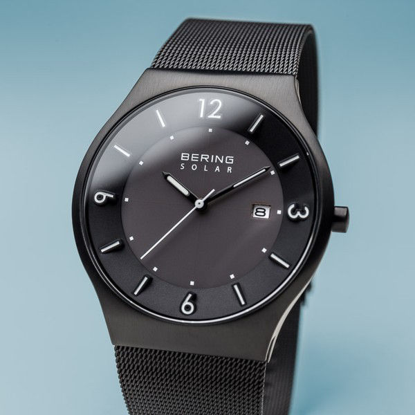 Picture of Bering Solar Brushed Black Watch