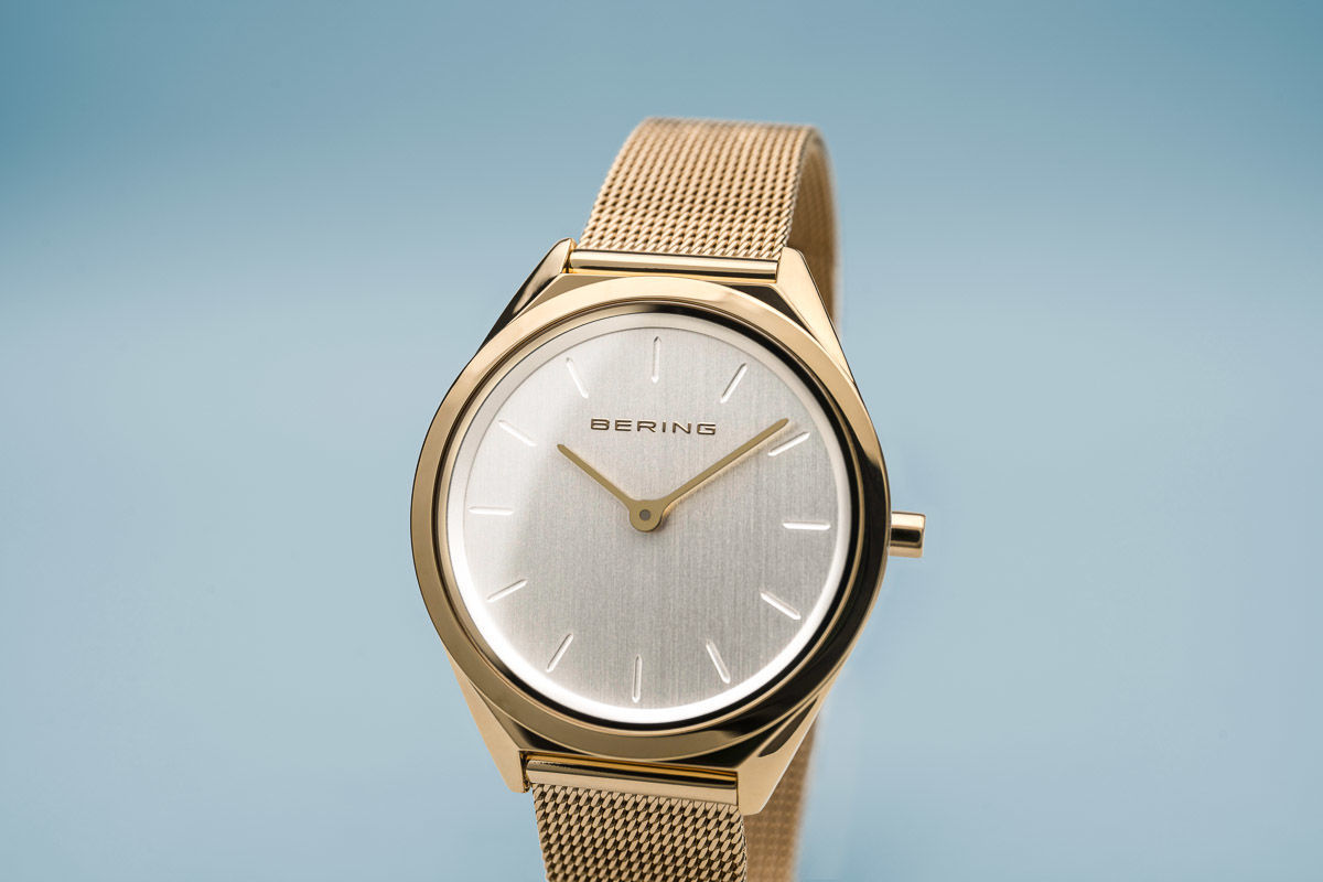 Picture of Bering Ultra Slim Gold Watch