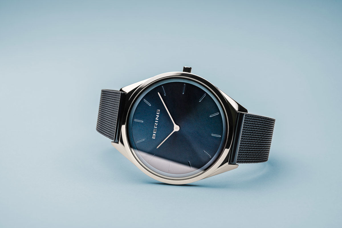 Picture of Bering Ultra Slim Blue Watch