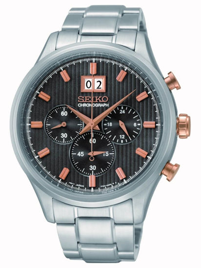 Picture of Seiko Rose Gold Details Chronograph Watch