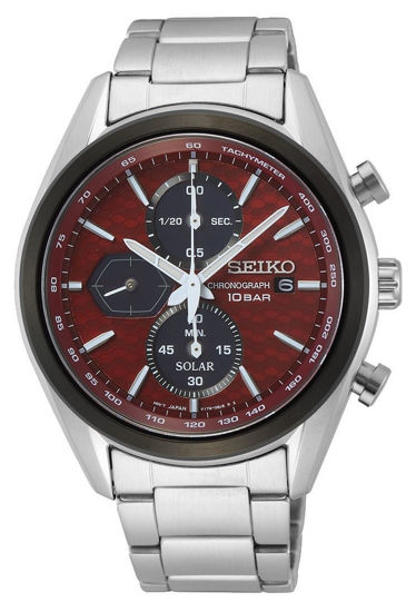 Picture of Seiko Chronograph Solar Red Watch