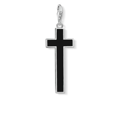 Picture of Large Black Cross Charm