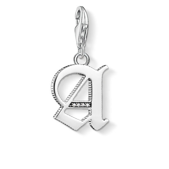 Picture of Vintage Letter A Charm