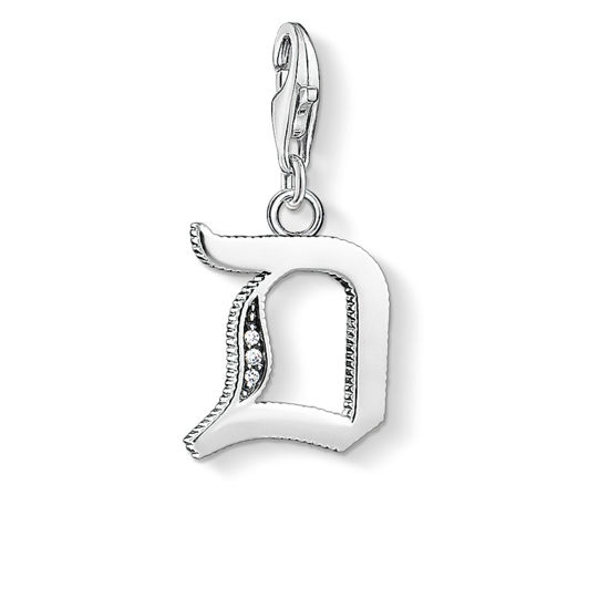 Picture of Vintage Letter D Charm