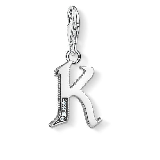 Picture of Vintage Letter K Charm