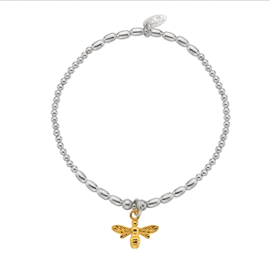 Picture of Golden Bumble Bee Bracelet