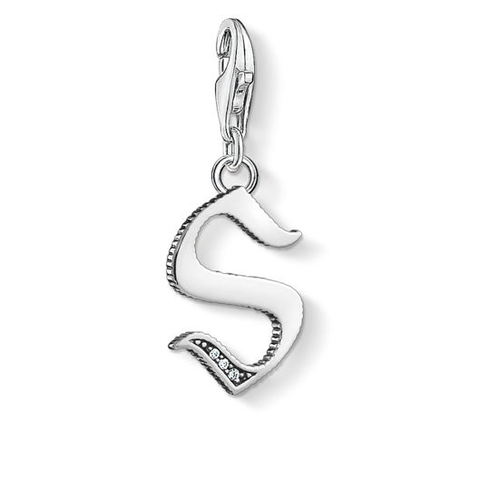 Picture of Vintage Letter S Charm