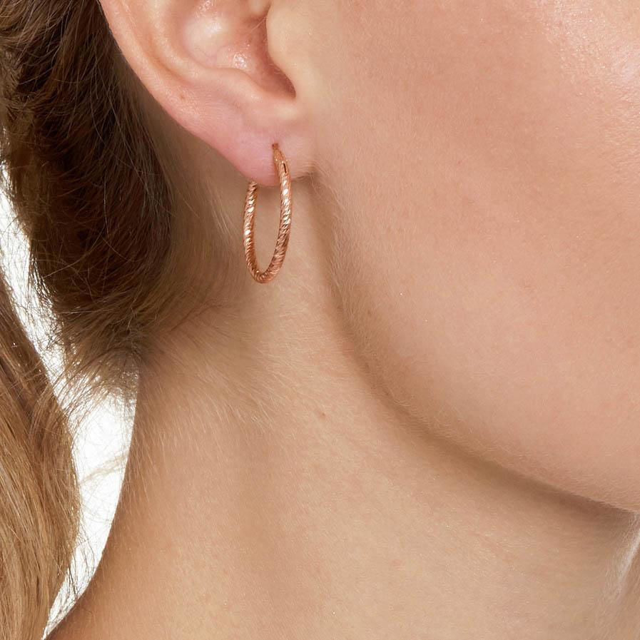 Picture of The Hoop Station La Roma Rose Gold 24mm
