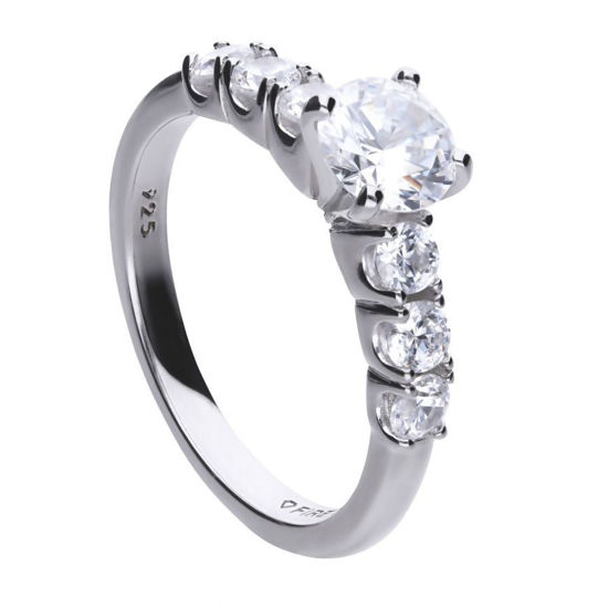 Picture of Seven Stone Cubic Zirconia Ring