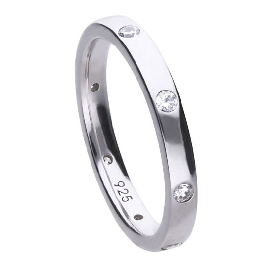 Picture of Band Ring with Individual Set Stones