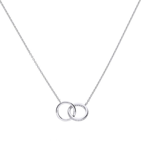 Picture of Interlocking Rings Necklace