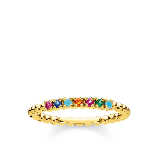 Picture of Colourful Dot Ring