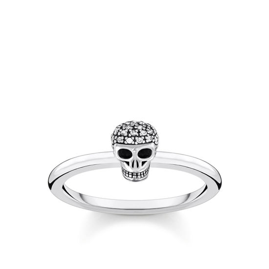 Picture of Skull Cubic Zirconia Ring