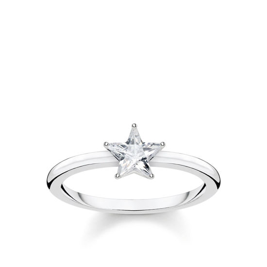 Picture of Star Ring in Silver
