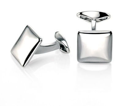 Picture of Square Cufflink With Rounded Profile