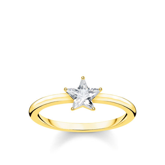 Picture of Star Ring in Gold