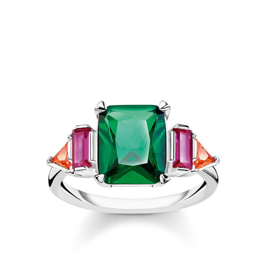 Picture of Green, Pink and Orange Ring