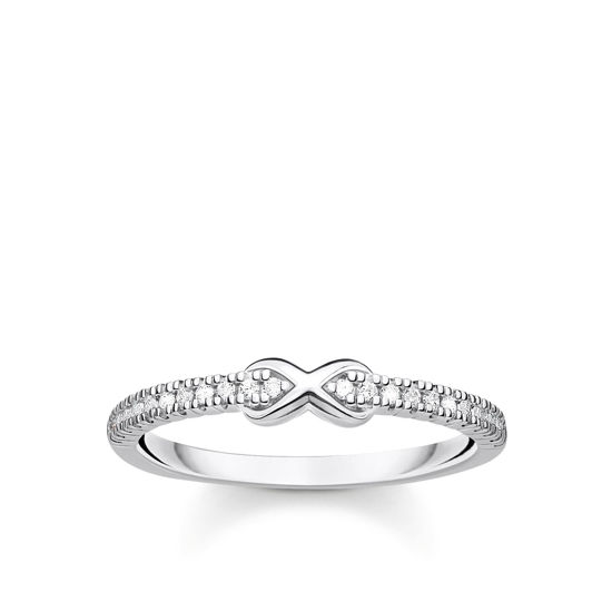 Picture of Infinity Ring in Silver