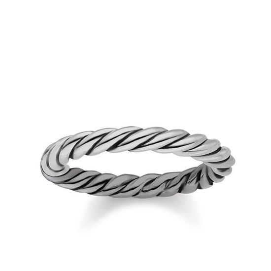 Picture of Silver Rope Ring