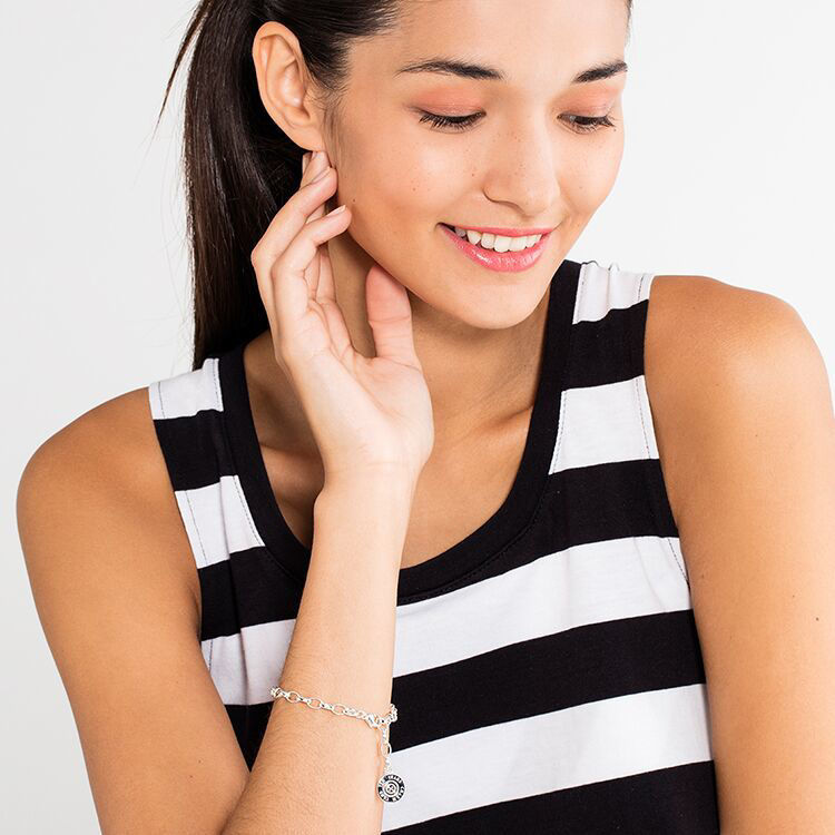 Picture of Diamond Charm Bracelet