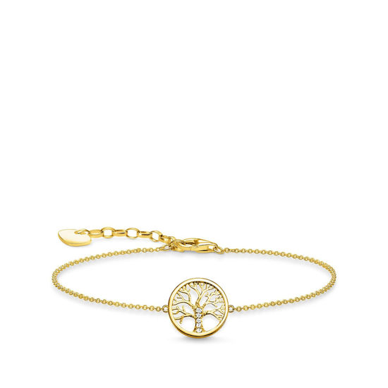 Picture of Tree of Life Bracelet in Gold