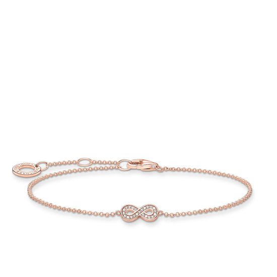 Picture of Infinity Bracelet in Rose Gold