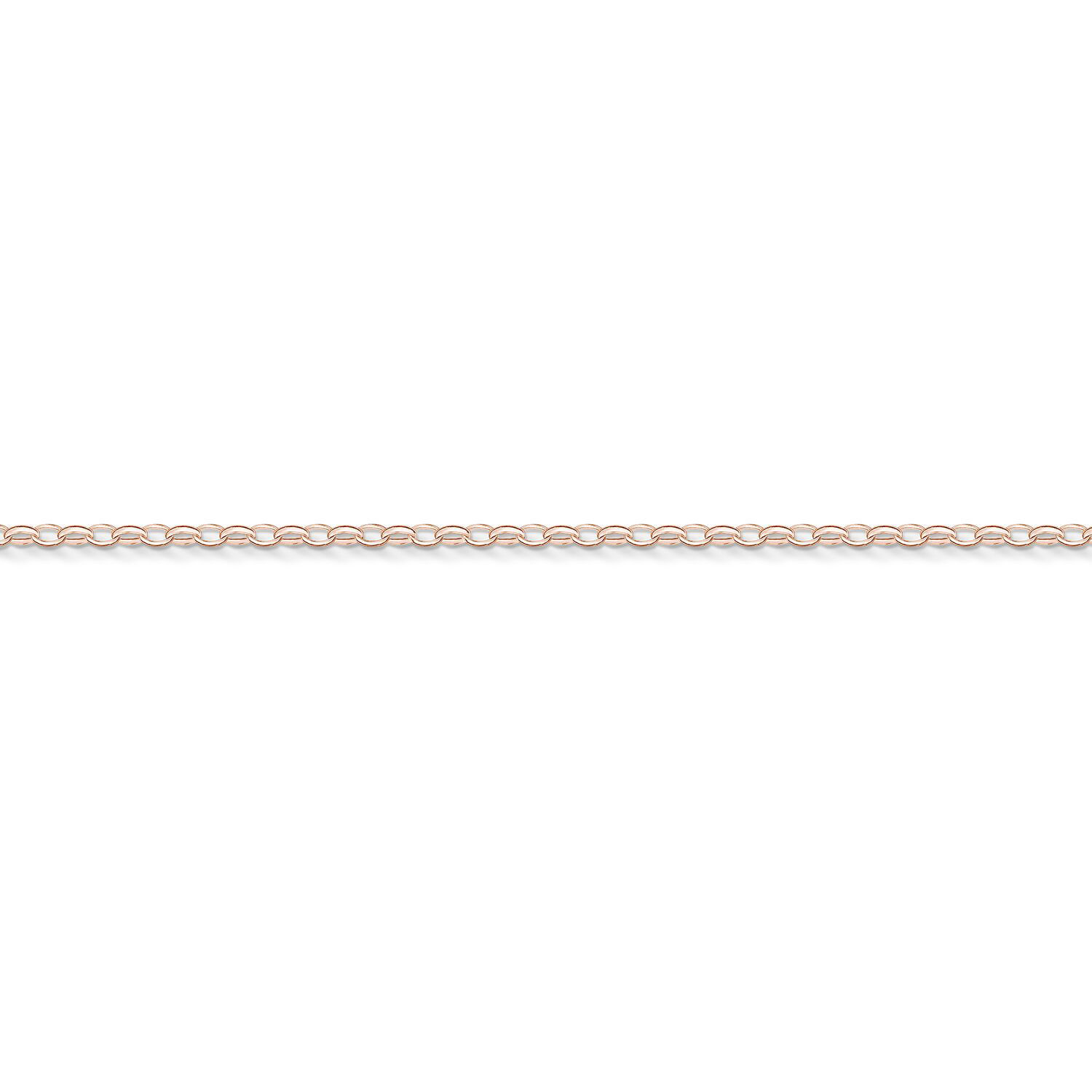 Picture of Slim Charm Bracelet in Rose Gold