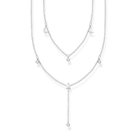 Picture of Layered Moon and Stars Necklace