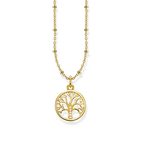 Picture of Tree of Life Necklace in Gold
