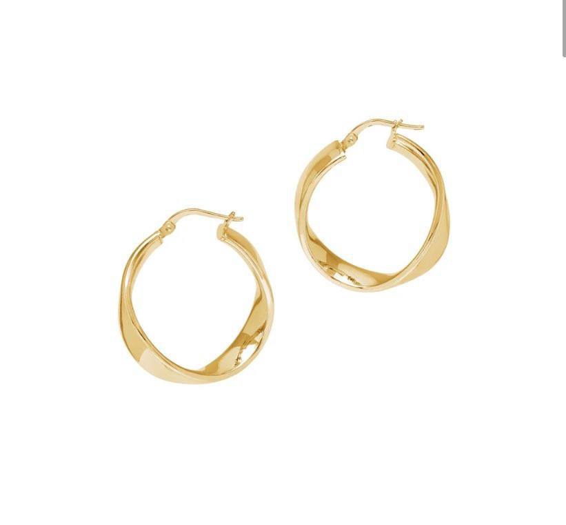 Picture of The Hoop Station La Wave Cuff in Gold