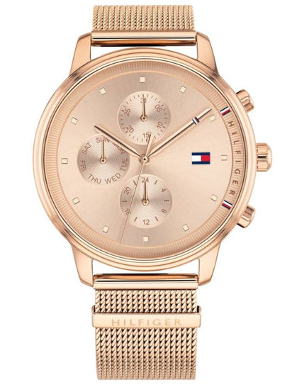 Picture of Blake Rose Gold Plated Chronograph Dial Mesh Strap Watch