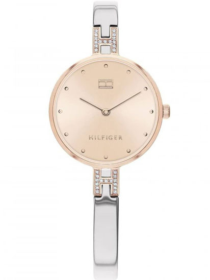 Picture of Kit Two Tone Rose Gold Dial Crystal Bangle Watch