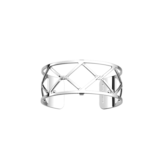 Picture of Cannage bracelet 25 mm Silver finish