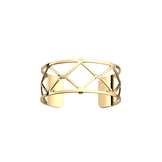 Picture of Cannage bracelet 25 mm Gold finish