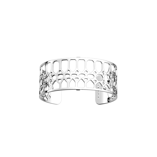 Picture of Crocodile bracelet 25 mm Silver finish £72.00